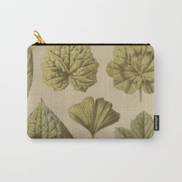 Victorian Botanical Carry-All Pouch