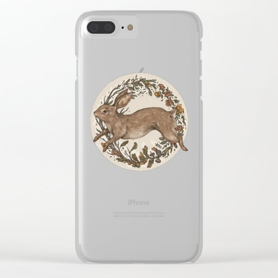 Rabbit Clear iPhone Case