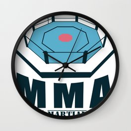 MMA Martial Arts Ring Competition Training Gift Wall Clock