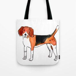Tango - Dog Watercolour Tote Bag