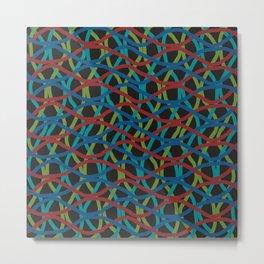 Tangled Wires Metal Print