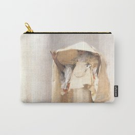 Fumée d'Ambre Gris - Smoke of Ambergris by John Singer Sargent Carry-All Pouch