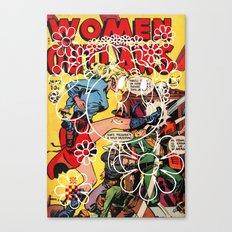 Women Outlaws Tweety Croatan Canvas Print