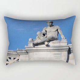 Above It All Rectangular Pillow