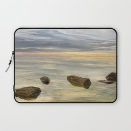 Sea sunset during calm weather Laptop Sleeve