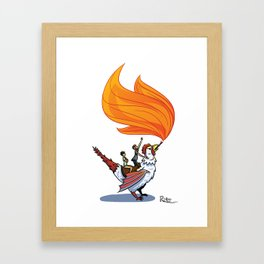 Mythical Framed Art Print