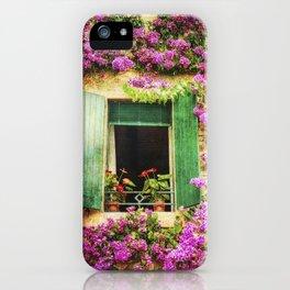Happy Window iPhone Case