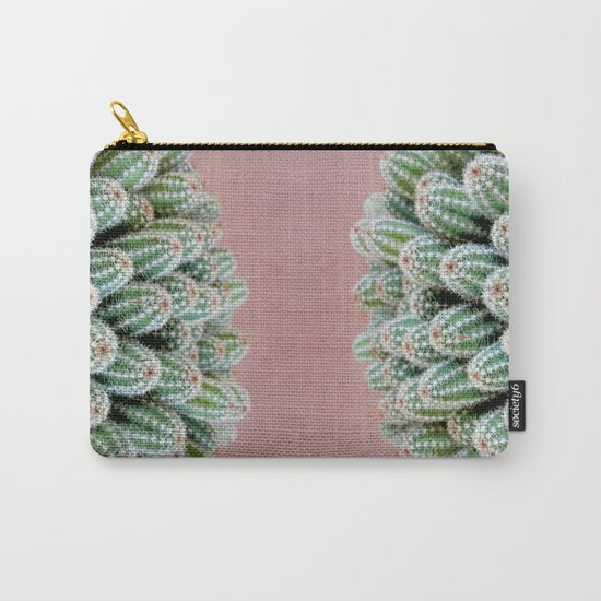 Double Cactus Carry-All Pouch