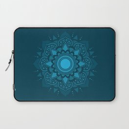 Blue Mandala #4 Laptop Sleeve