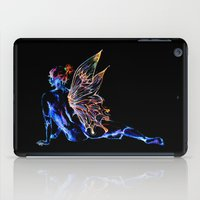 tinker bell iPad Cases featuring Tinker Bell - My Glowing Love for You by Chien-Yu Peng
