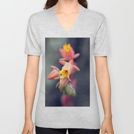 Echeveria Runyonii Habitus Inflorescences Unisex V-Neck