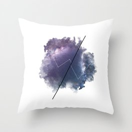Cosmic Jargon Throw Pillow