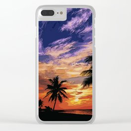 Nature's Lullaby Clear iPhone Case