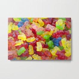 Candy bear Metal Print
