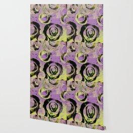 Lavender and Lemon Sherbert Wallpaper