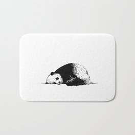 Sleepy Panda Bath Mat