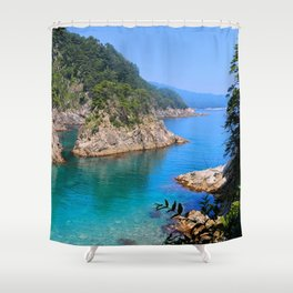 Carving Out Wonders Shower Curtain