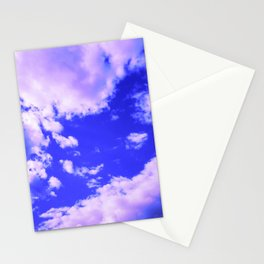 cloudy sky 3 db Stationery Cards