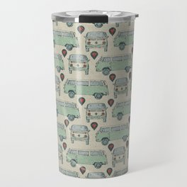 On My Way To Everywhere Pattern Travel Mug