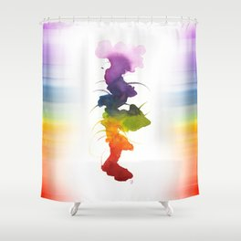 Little Chakra Tree Shower Curtain