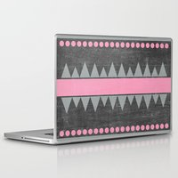 aztec Laptop & iPad Skins featuring Aztec by her art