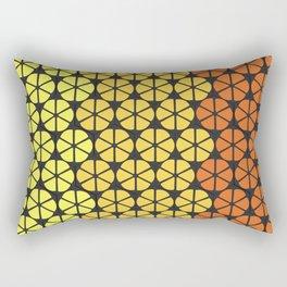 Ultraviolence Orange Rectangular Pillow