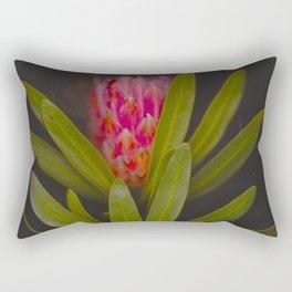 Dark floral Rectangular Pillow