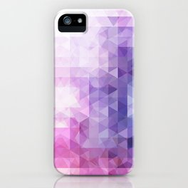 Enchanted geometry iPhone Case