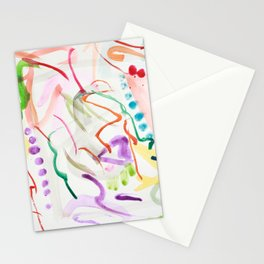 Abstract aquarel paitning Stationery Cards