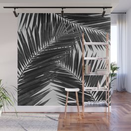 Palm Leaf Black & White III Wall Mural