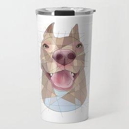 Smiling Pup Travel Mug