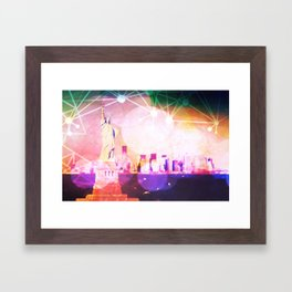 I stand with Liberty Framed Art Print