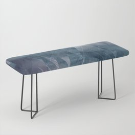 Ameythist Crystal Inspired Modern Abstract Bench