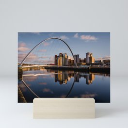 Millennium Bridge Gateshead Mini Art Print
