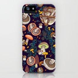 Dark dream forest iPhone Case