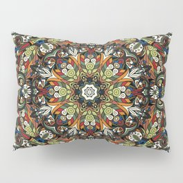 Boho Geometric Mandela Pattern 1 Pillow Sham