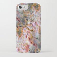 Rainbow Marble 1 iPhone 7 Slim Case