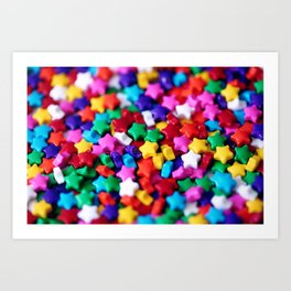 Rainbow Sprinkles Art Print