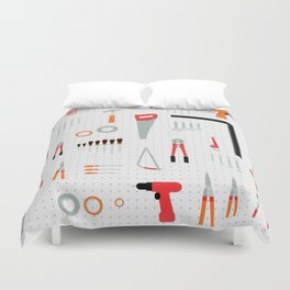 Tool Wall Duvet Cover
