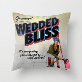Wedded Bliss Throw Pillow