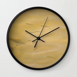 Minnows Wall Clock