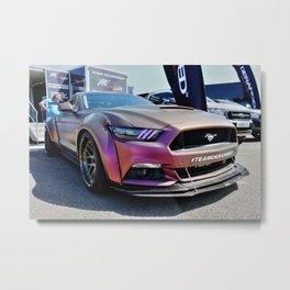 The Mean Mustang Metal Print