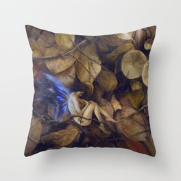Autumn Slumber Throw Pillow