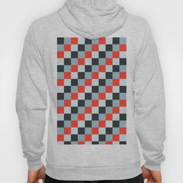 Stainless steel knife - Pixel patten in light gray , light blue and red Hoody