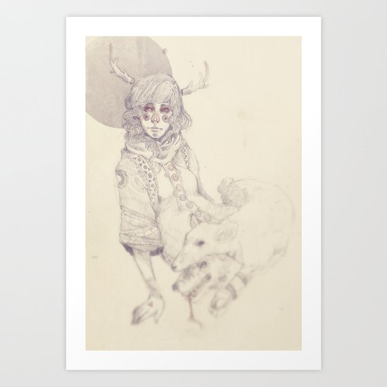 In Sheeps Clothing Art Print