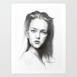 Vlada Art Print