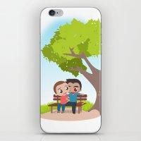 sterek iPhone & iPod Skins featuring Sterek Spring by Amarok