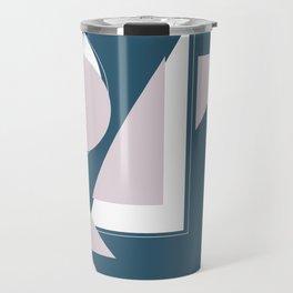 Geometric Shapes Abstract Travel Mug