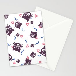 Cats and Squiggles Stationery Cards