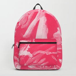 Pink Tones Paint Abstract Happiness Backpack